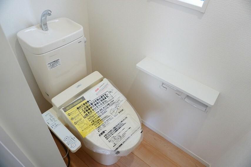 トイレ ウォシュレット、暖房便座、節電・節水機能など、使い勝手のよい高機能トイレです。