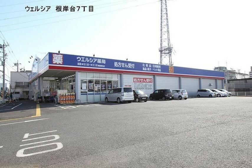 ドラッグストア 【ドラッグストア】ウエルシア 朝霞根岸台店まで1170m