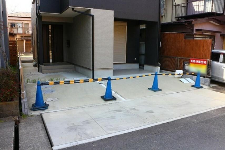 駐車場 駐車場は2台分確保してあります。