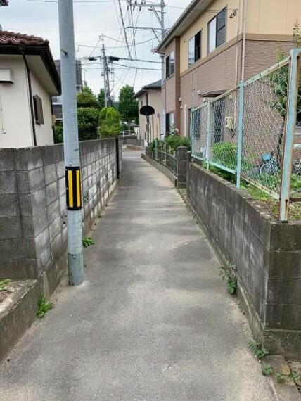 現況写真 <2021/03撮影>前面道路