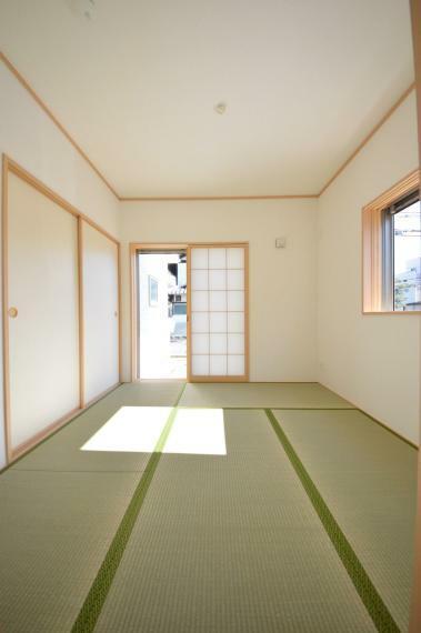 和室 1階の和室 4.5帖