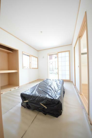 1階の和室 6帖