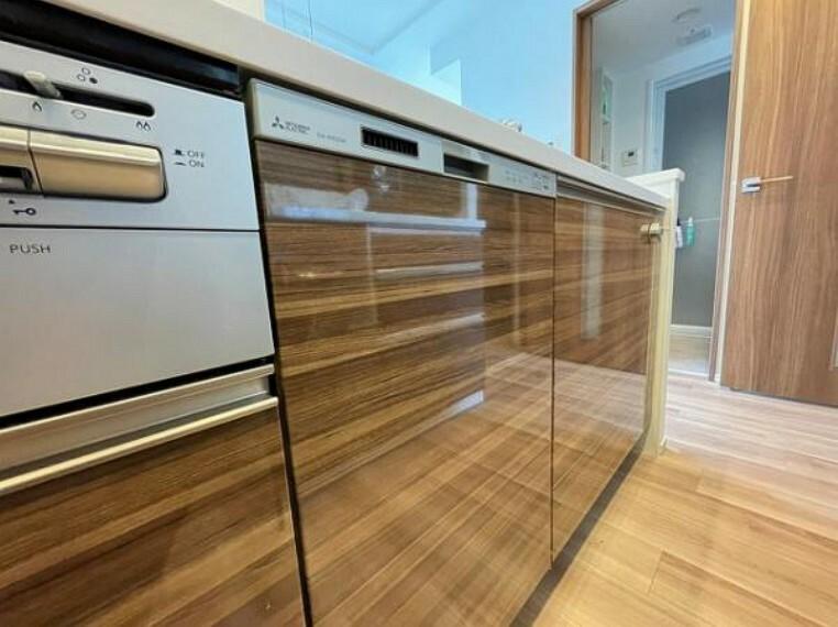 食洗機もあり、家事の負担を軽減できますよ