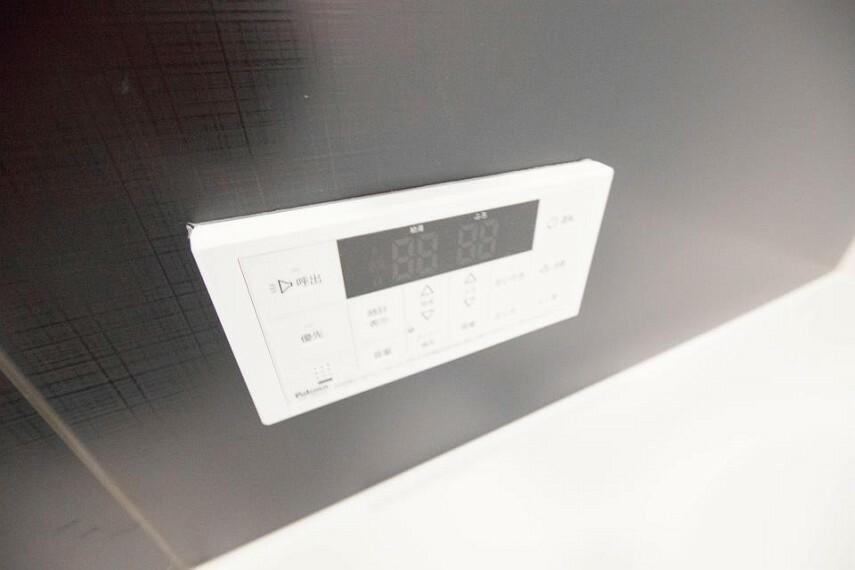 発電・温水設備 追い焚きで消費節約できる家計に優しい機能。