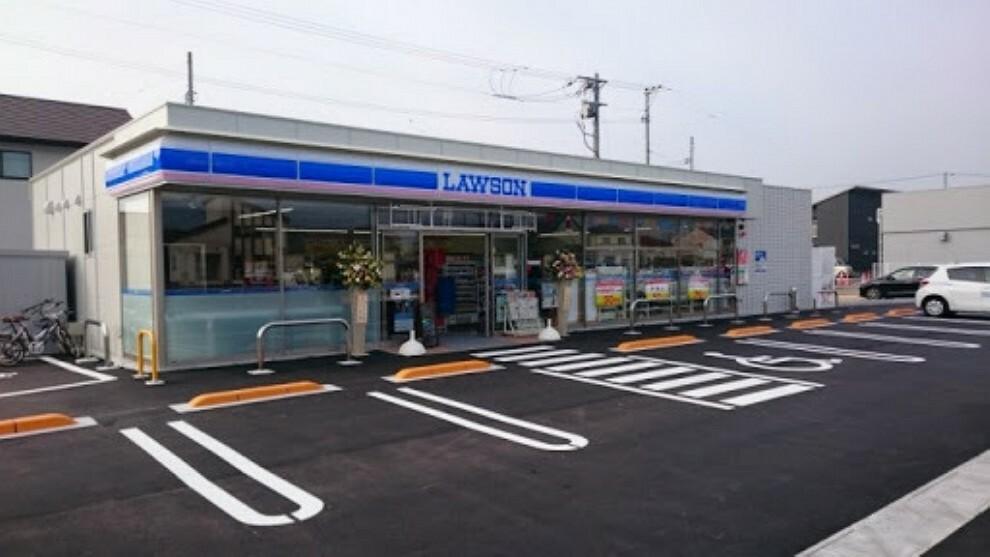 コンビニ ローソン岡山高島新屋敷店