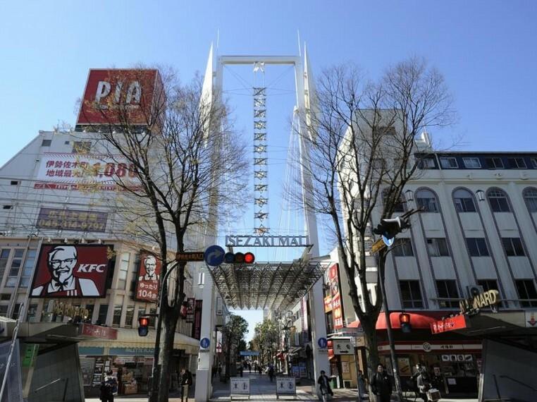 伊勢佐木モール(衣食住の全てが揃う商店街。古くからある店と新しい店が同居し補い合う、活気ある通りです。)