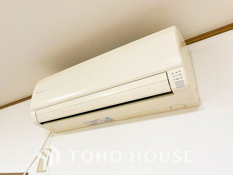 エアコンは空気を汚さず場所も取らないので、お部屋を広く使えます。