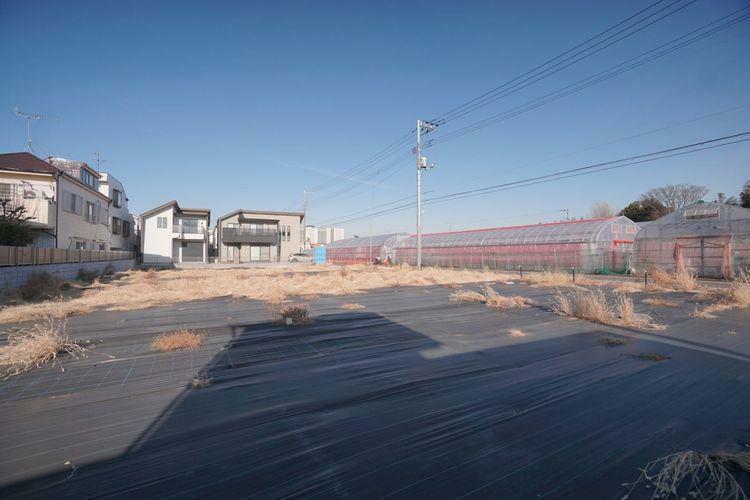 現況写真 第一種低層住居専用地域。落ち着いた住宅が建ち並んでいます。
