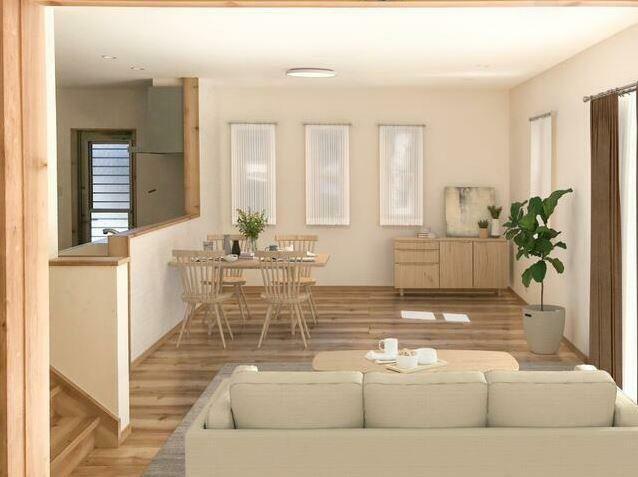 居間・リビング 家具配置例OGとなります。