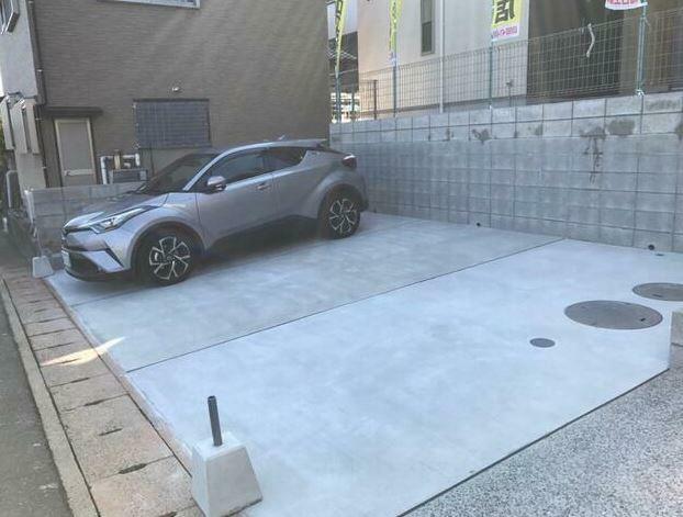 駐車場 駐車3台可能!
