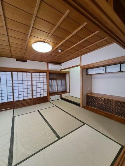 和室 和室8帖:各部屋収納があるのでいつでもお部屋すっきり!