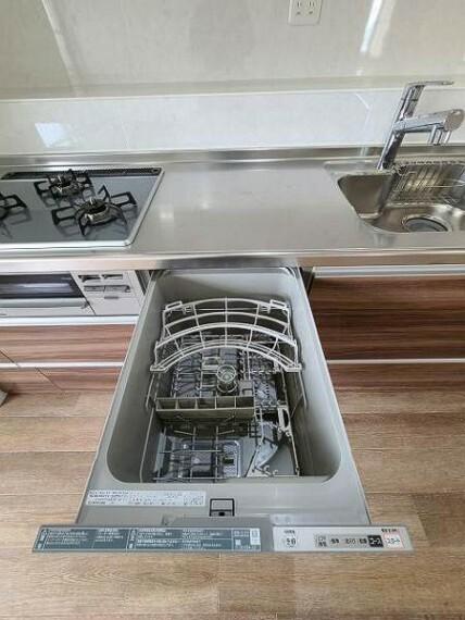食洗機付きのキッチンは家事がはかどりますね!