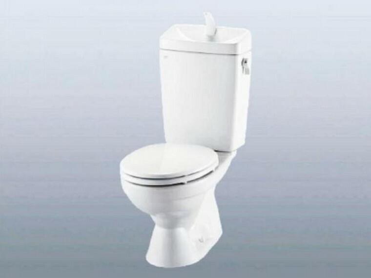 トイレ 【リフォーム中】1階トイレはLIXIL製の温水洗浄便座トイレに新品交換します。壁・天井のクロス、床のクッションフロアを張り替えます。毎日家族が使う場所なので、清潔感のある空間に仕上げます。
