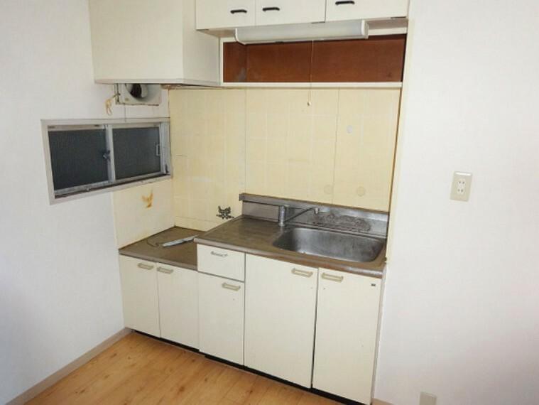 キッチン 【キッチン】使い勝手の良いコンパクトなキッチンスペース