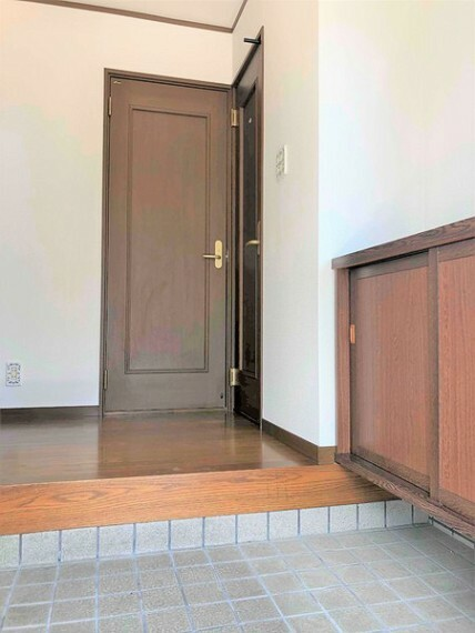 玄関 気持ちよくお客様をお出迎えできそうな玄関スペース