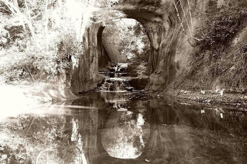 亀岩の洞窟(2017年2月)