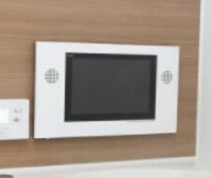 浴室カラーテレビ