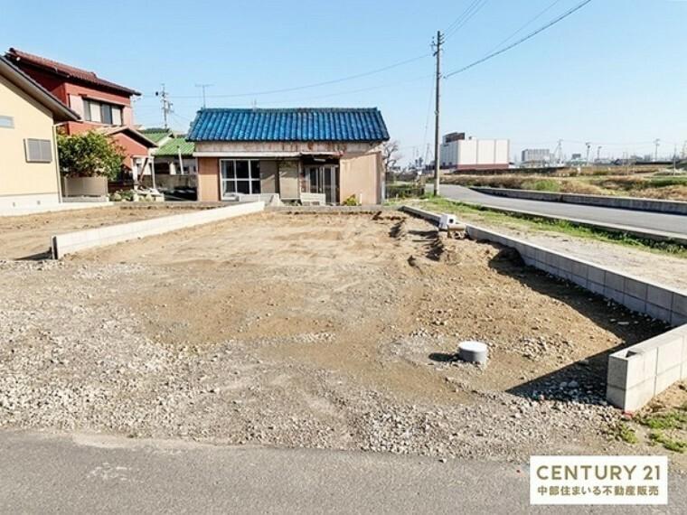 現況外観写真 岡崎市【針崎町】に全2棟の新築分譲住宅。ご予約の上、現地案内会実施中!お気軽にお問い合わせください。