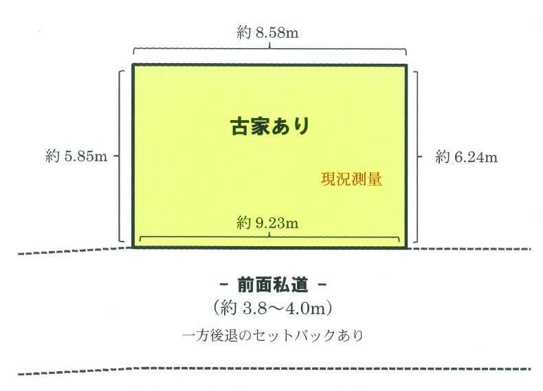 土地図面 配置図