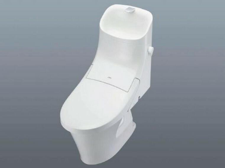 トイレ 【同仕様写真】トイレはLIXIL製の温水洗浄機能付きに新品交換予定。キズや汚れが付きにくい加工が施してあるのでお手入れが簡単です。直接肌に触れるトイレは新品が嬉しいですよね。