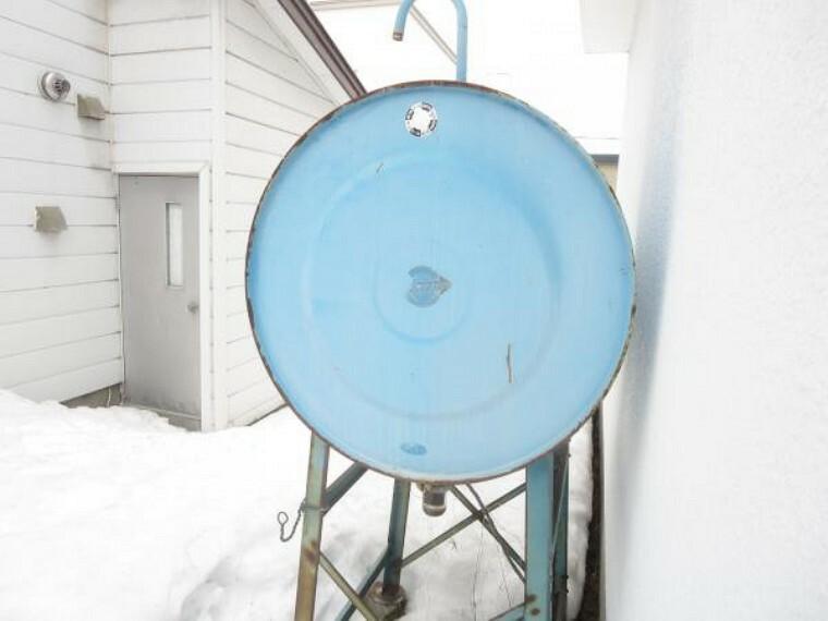 【灯油タンク】新品の灯油タンクに交換します。