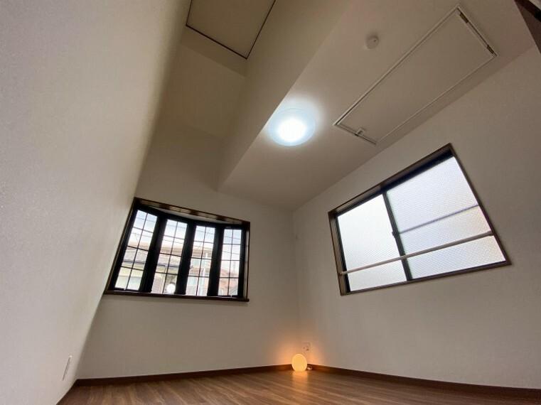 洋室 2面採光の居室は快適な光を取り入れ、心地よい風を取り入れます。
