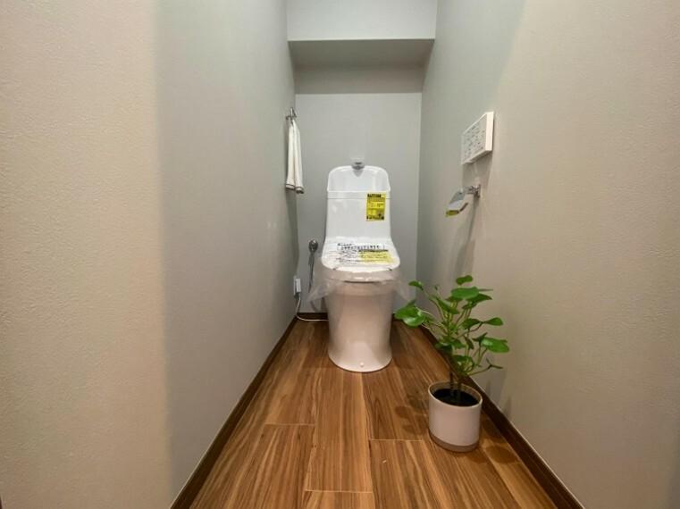 トイレ 毎日使う場所だから、より快適な空間に仕上げられています。