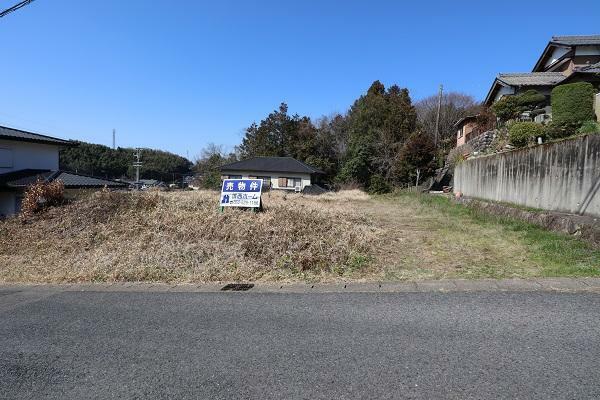 現況写真 現地土地写真 南側から道路から撮影