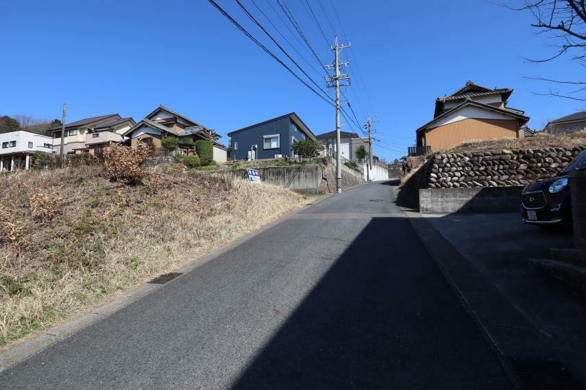 現況写真 現地土地写真 南西から撮影