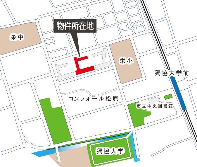 区画図 案内図