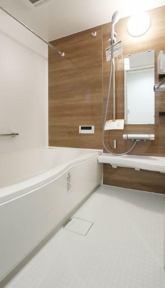 完成予想図(内観) 自宅のお風呂が一番快適に感じられそうな広い浴室です!【施工例】