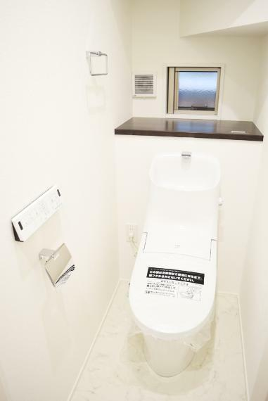 完成予想図(内観) 節水もお掃除のしやすさも叶えるトイレもございます。【施工例】