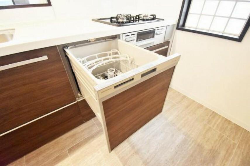 発電・温水設備 時間の節約や手肌の悩みにも嬉しい食洗機