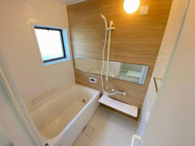 浴室 広々としたバスルームで1日の疲れをリフレッシュ!