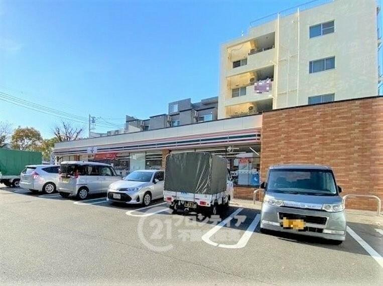 コンビニ セブンイレブン 神戸湊川インター店