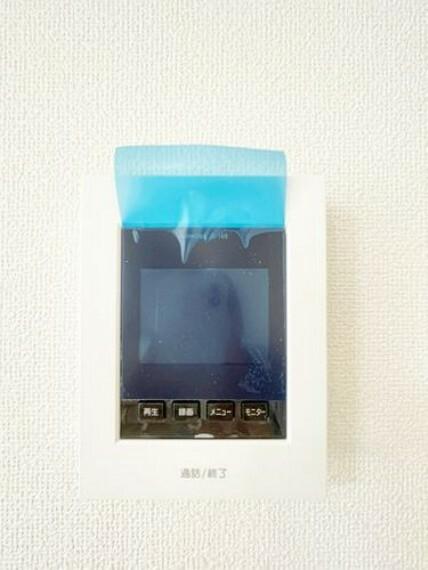 TVモニター付きインターフォン 【TVインターフォン】