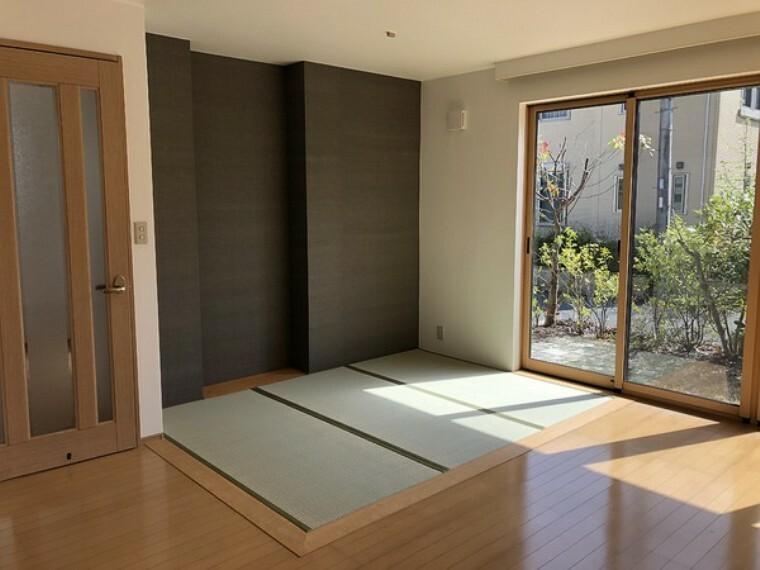 居間・リビング あると嬉しいリビングの畳コーナー