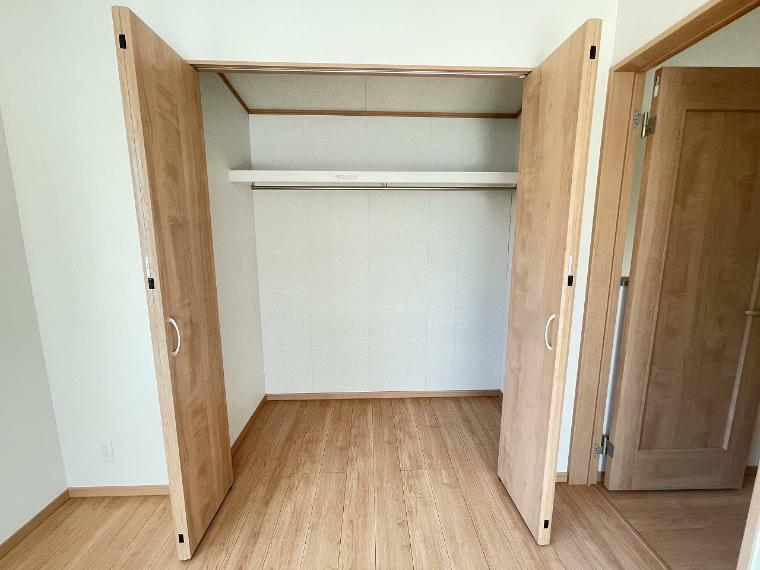 収納 各部屋には収納もついてお片付けもバッチリです いつも綺麗なお部屋を保てます