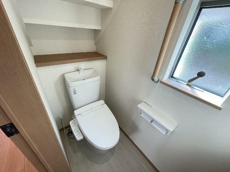 トイレ トイレは1階2階の両方にあり朝の支度中など混雑する時間にも重宝しますね