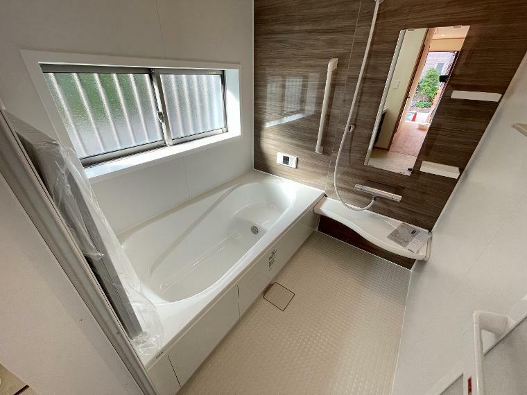 浴室 お風呂はパパと一緒でもゆっくり浸かれます 家族のコミュニケーションも取れる大切な空間です