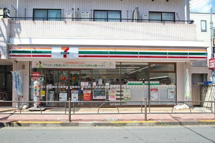 コンビニ セブンイレブン練馬豊玉中3丁目店 徒歩2分。