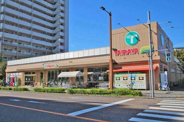 スーパー TAIRAYA三鷹新川店 徒歩17分。