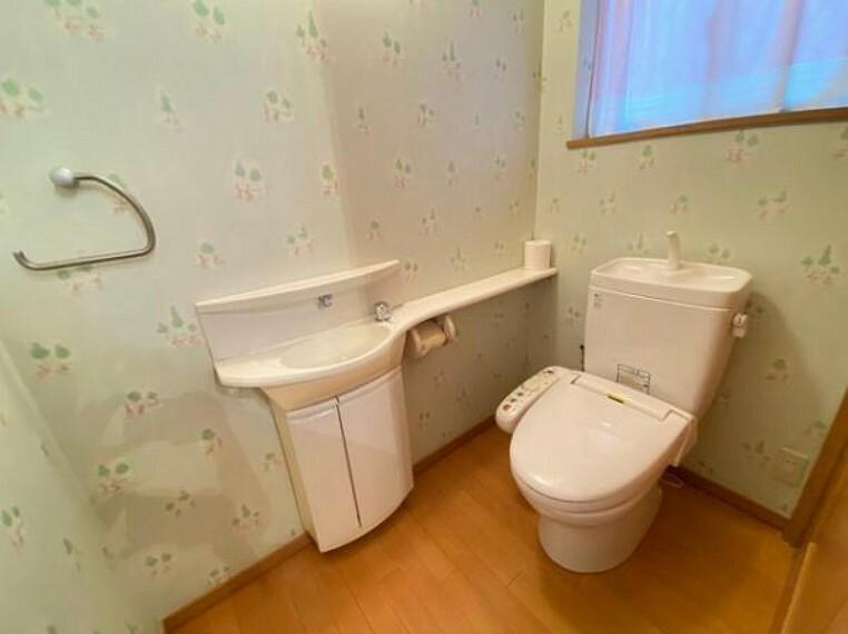 トイレ 地元密着のフロンティア不動産販売にお任せください!