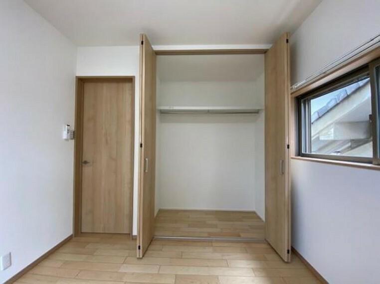 収納 ゆったりとした収納スペースです
