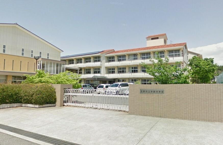 中学校 生徒数は約335名、教員数は29名です!HPで中学校教育評価を見ることができます