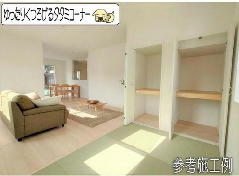 和室 【タタミコーナー】くつろぎスペースとして使用可能