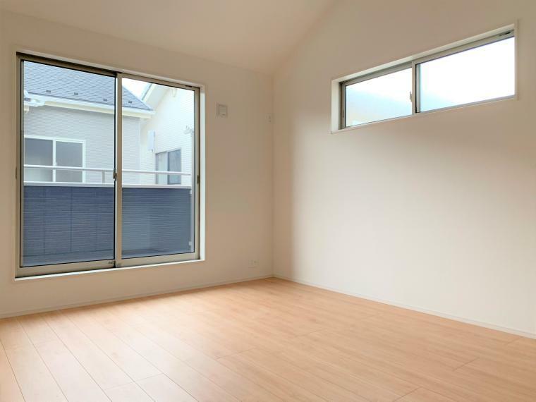 洋室 7帖の居室は、心地よく寛げるようゆったりとした広さを確保しています!