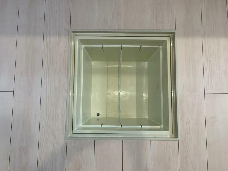 和室 重さ70kgまで収納できる床下収納