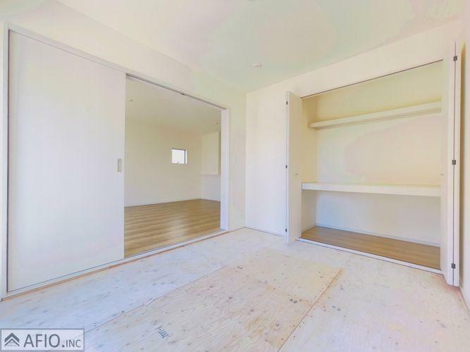 収納 和室収納も完備。