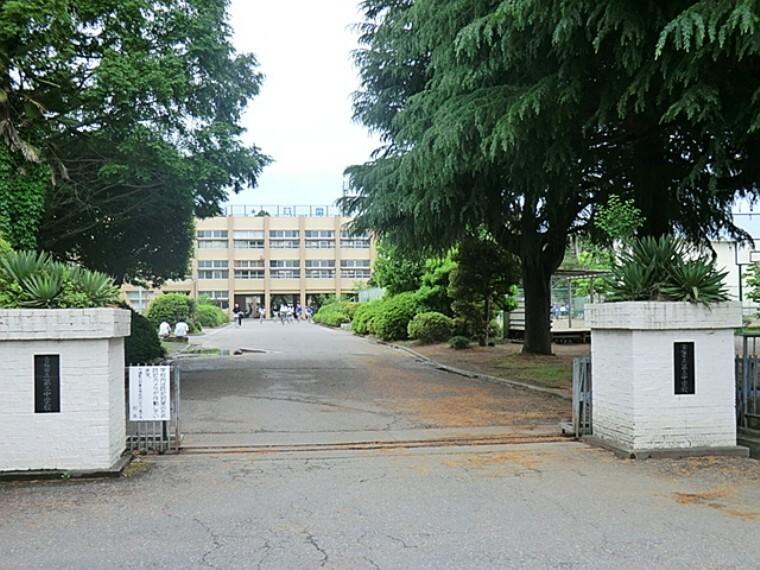 中学校 青梅市立第三中学校